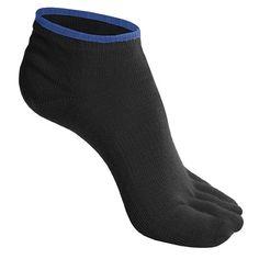 SmartWool Micro Toe Socks - Merino Wool - Toe socks are my secret weapon against blisters on long hikes.