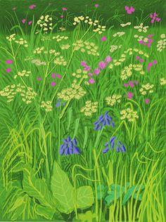 David Hockney, 'The Arrival of Spring in Woldgate, East Yorkshire in 2011 (twenty eleven) - 17 May,' 2011