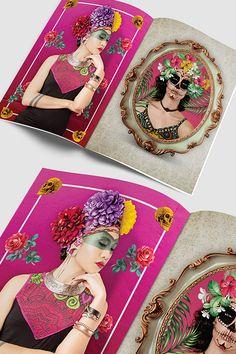 Interno Brochure Spring Summer 2016 ,Stile  Frida Khalo Spring Summer 2016, Frame, Design, Home Decor, Frida Khalo, Homemade Home Decor, Interior Design, Frames