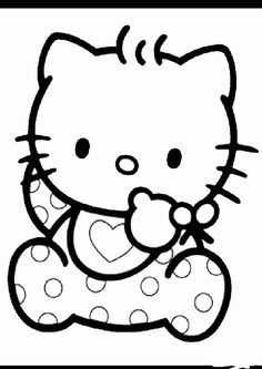 Ausmalbilder Hello Kitty Herz 944 Malvorlage Hello Kitty