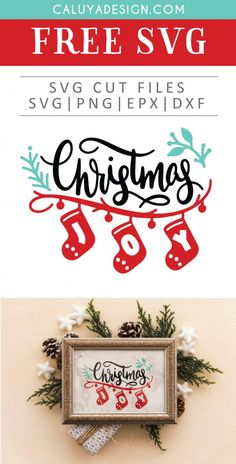 Free Christmas Joy SVG, PNG, EPS & DXF by Caluya Design. Compatible with Cameo Silhouette, Cricut and other major cutting machines!Perfect for your DIY projects, Giveaway and personalized gift. Perfect for Planner customization! Cricut Christmas Ideas, Silver Christmas Decorations, Christmas Svg, Free Christmas Printables, Christmas Wreaths, Free Font Design, Free Printable Clip Art, Free Svg, How To Make Planner