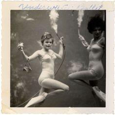 underwater ballet/1950s.