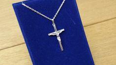 Silberkreuz Anhänger Jesus Kreuz Silber 925 SK686 von Schmuckbaron