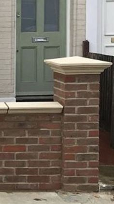 Regency pier cap and coping stone manufactured in dry cast cream colour option. Cream Colour, Color, Coping Stone, Cream Walls, Wall Ideas, Regency, Gates, Terrace, Houses