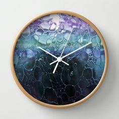 Bubbles Wall Clock by Lynn Bolt - $30.00