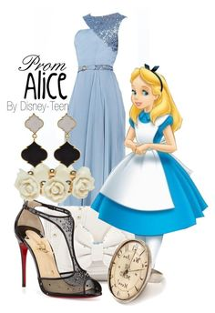 """Alice"" by disney-teen ❤ liked on Polyvore"