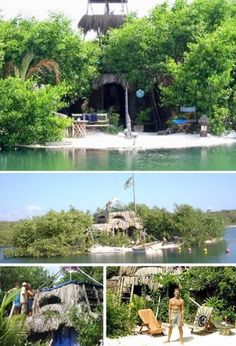 If you can't afford to buy your own tropical island paradise, why not build your own? That is exactly what Richie Sowa did back in 1998, using over a quarter-million plastic bottles. His Spiral Island, destroyed years later by a hurricane, sported a two-story house, solar oven, self-composting toilet and multiple beaches. Better yet, he has started
