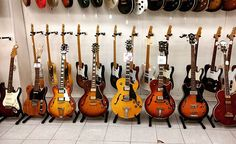 Family gathering  #gibson #fender #guitar #gibsunday #telecaster #stratocaster #greco #electricguitars #hollowbody #music #fenderguitar #gibsonguitar #japan #tokyo #tokyo #love #usa #insta #instagram #instadaily #instaguitar #guitarshop #barcelona #guitars #wood #deco