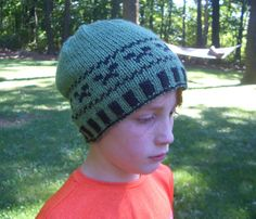 Pattern:  Knitted Creeper Hat