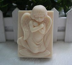 Creativemoldstore 1pcs New Style Shy Angel (Z02) Craft Art Silicone Soap Mold Craft Molds DIY Handmade Soap Mould *** For more information, visit image link.