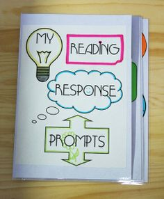 One of the best reading response prompts out there - Cut and add to reading journal? Great for respond to reading!!!