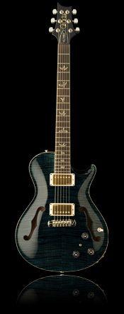 FrontPRS Singlecut Hollowbody II (love the black, the purple's cool too)