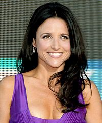 Julia Louis-Dreyfus. Loved Seinfeld and I can't get enough of the New Adventures of Old Christine! SO FUNNY!