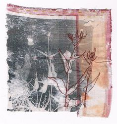 Featured textile artist Cas Holmes: To do different . Fabric Painting, Fabric Art, Fabric Books, Fabric Journals, Texture Painting, Cas Holmes, Creative Textiles, Textile Artists, Fiber Art
