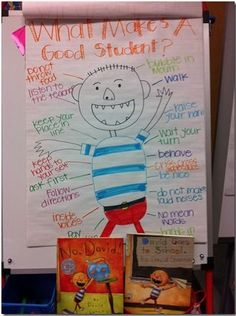 Respectful Student Anchor Chart and Read--No David!