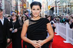 Canada's Walk of Fame Inductee Nelly Furtado on the red carpet at the 2010 Canada's Walk of Fame Awards