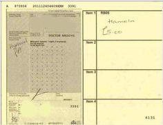 Image result for nhs prescription form old