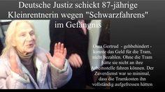 #Politikversagen Unfassbare Fälle der Justiz: 87-jährige Oma (deutsch) wegen Schwarzfahrens ins Gefängnis. Zwei Immigranten nach Brandstiftung auf freiem Fuß