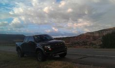 My 1st #Ford #Raptor somewhere in Northern #NewMexico near Abiquiu - Georgia O'Keefe country. I loved this truck so much that I got a second, larger one in the same color.