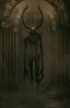 Want to discover art related to wendigo? Check out inspiring examples of wendigo artwork on DeviantArt, and get inspired by our community of talented artists. Dark Fantasy Art, Fantasy Kunst, Dark Art, Fantasy Images, Fantasy Artwork, Fantasy Monster, Monster Art, Tree Monster, Monster Concept Art