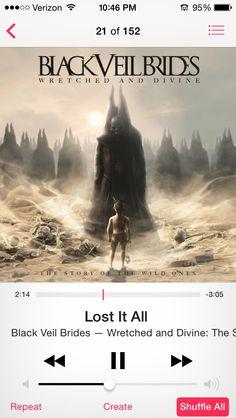 Lost It All-Black Veil Brides