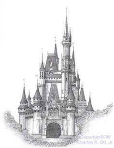 Walt Disney World 'Cinderella Castle' - Media - Artist Daily