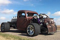 Crazy Backwards Custom Trucks | Video: Introducing A Crazy High Powered Dodge Rat Rod Truck