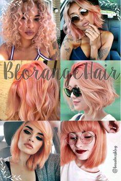 Tendencia 2017: Blorange Hair