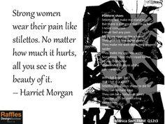 A poem about Stilettos written by FMM student, Monica Jin Li Seet  Raffles, Manila