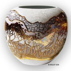 Art Nouveau Lustre Vase by Heather Tailor