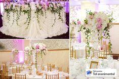 decoratiuni sala nou paradis aranjamente si decoratiuni ISSA Lace Wedding, Wedding Dresses, Paradis, Reception, Bride Dresses, Bridal Gowns, Weeding Dresses, Wedding Dressses, Receptions