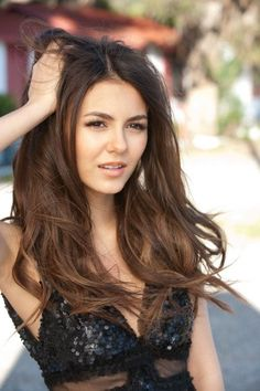 Victoria Justice in sexy black dress 2011 photoshoot HQ photosBeautiful Women to AdoreSome of my exes got famous, for some reason Victoria Justice, She Is Gorgeous, Beautiful Eyes, Beautiful Women Tumblr, Brunette Actresses, Look At You, Beautiful Celebrities, Pretty Face, Beauty Women