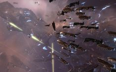 EVE Online fight