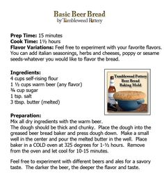 Beer Bread Recipe Thinking It Over Recipes Pinterest Beer Bread Bread Recipes And Beer