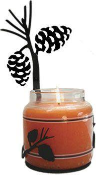 Pinecone - Large Jar Sconce