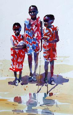 Junior Maasai by Jake Winkle