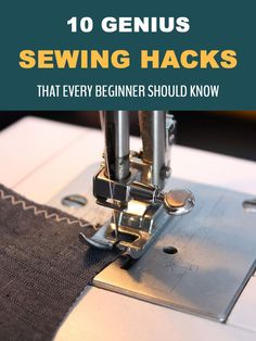 10 Genius Sewing Hacks That Every Beginner Should Know Make sewing easier with this list of tips and tricks. Sewing Lessons, Sewing Class, Love Sewing, Sewing Basics, Easy Sewing Projects, Sewing Projects For Beginners, Sewing Hacks, Sewing Tips, Sewing Ideas