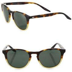 Barton Perreira 52MM Wayfarer Sunglasses ($415) ❤ liked on Polyvore featuring men's fashion, men's accessories, men's eyewear, men's sunglasses, apparel & accessories, dark brown, mens retro sunglasses, mens tortoise shell sunglasses and mens wayfarer sunglasses