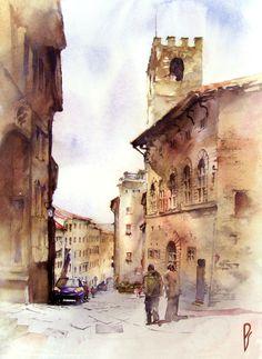 arezzo_oldtown__italy_by_zawij