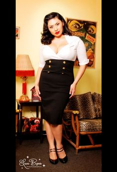 Want this pinup dress Possible Brides maid dress!