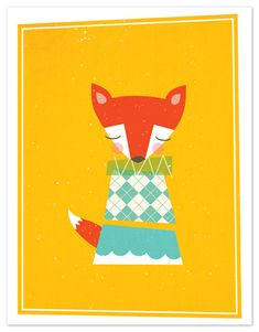 personal stationery - foxy by nocciola design