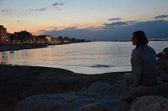 Podróże małe i duże #journey#trip#italy#polishgirl#sunset#stones#rimini#riminibeach#beach#beautiful#girl#adriaticsea#adriatic#instagood#instafollow#instalove#instalike#love#sea by impossible_75_