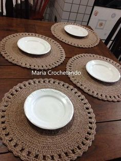 Pattern crochet coasters, Coffee Time Doily, Tea time Crochet Doilies, crochet rug pattern, hygge home decor (tutorial PDF file) Crochet Motifs, Crochet Rug Patterns, Crochet Designs, Crochet Doilies, Crochet Gifts, Diy Crochet, Christmas Dinner Set, Crochet Placemats, Crochet Home Decor