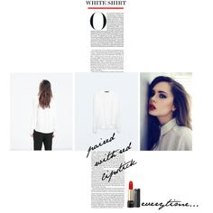 """The White Shirt"" by morganhina on Polyvore"