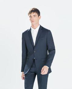 Basic fashion blazer. Navy Blue. $119