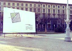 Cartellone - Piazza Cavour - Ancona - 1982