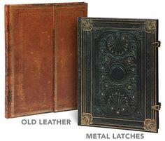 Antiquarian Blank Book Journals