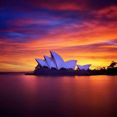 Sydney Opera House #Sydney, #Australia