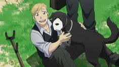 Alphonse elric and Den XD