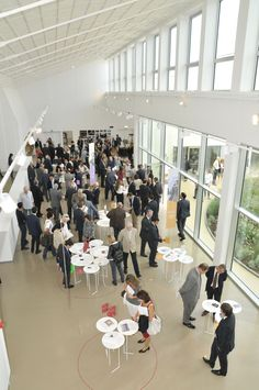 Aerial View of Museum during the opening ceremony. 27-29/09/12